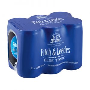 Fitch And Leedes Blue Tonic 200Ml 6 pack