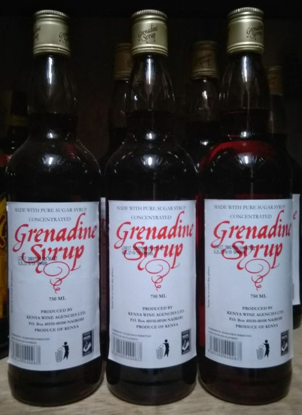 Grenadine Syrup 750Ml