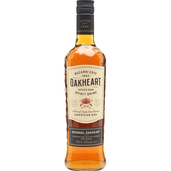 Bacardi Oak Heart 700Ml