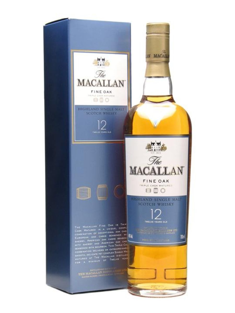 Macallan Fine Oak 12yo 70cl