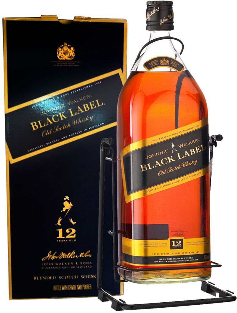 Johnnie Walker Black Label 4.5Ltr