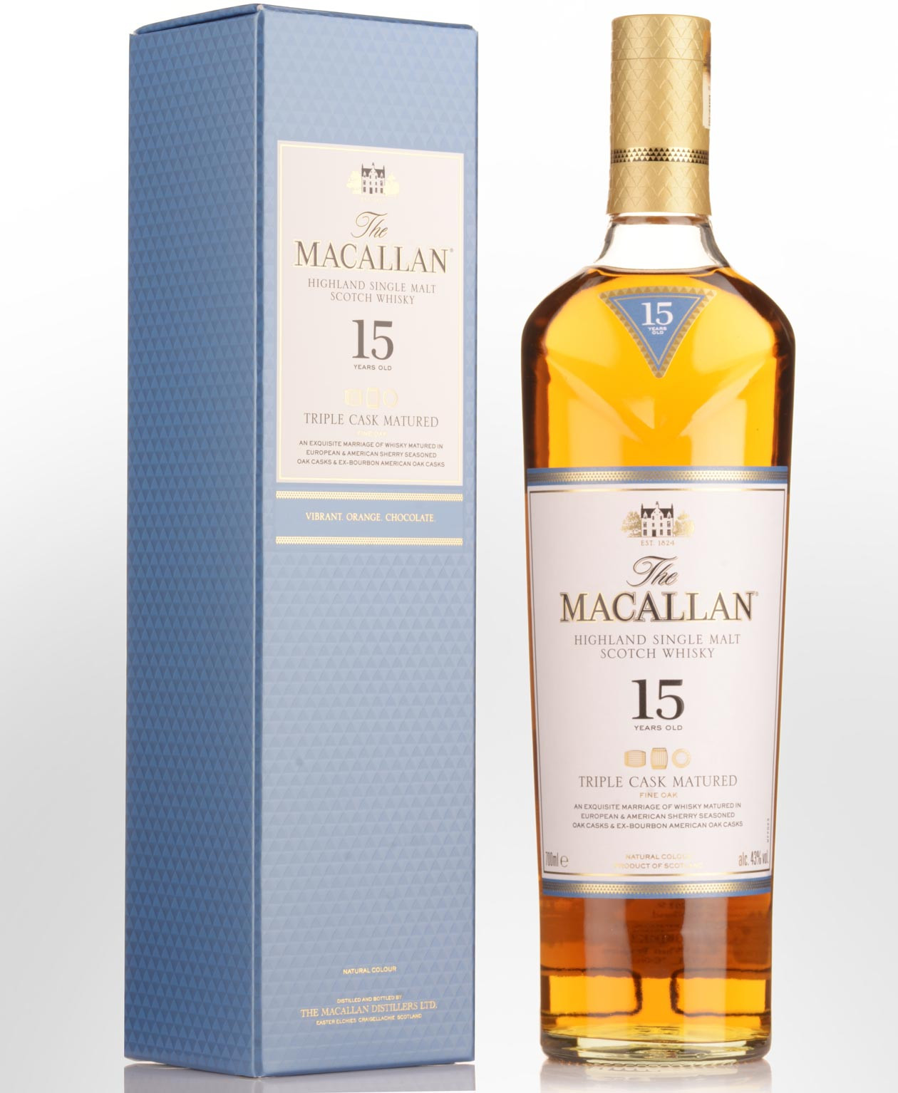 Macallan Triple Cask 15Yrs 700Ml