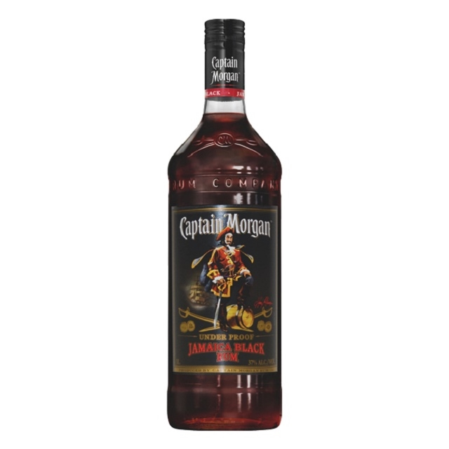 Captain  Morgan Black 1Ltr