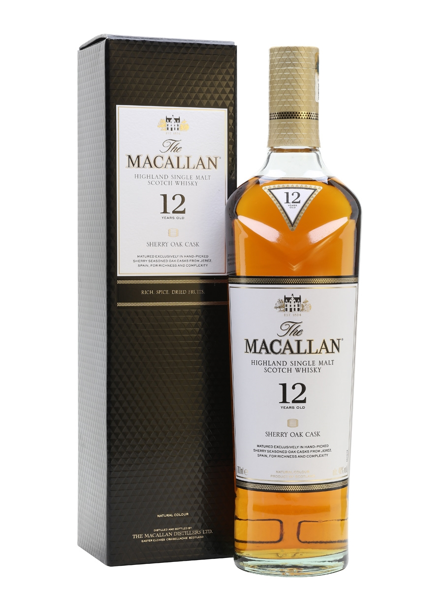 Macallan Sherryoak 12Yrs 70Cl