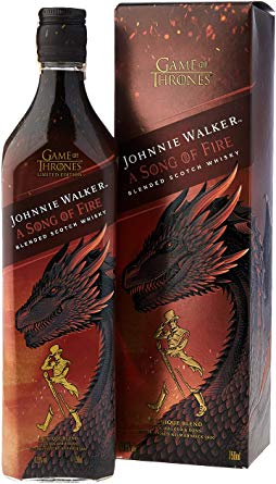 Johnnie Walker (Got Edition)Song Of Fire  750Ml
