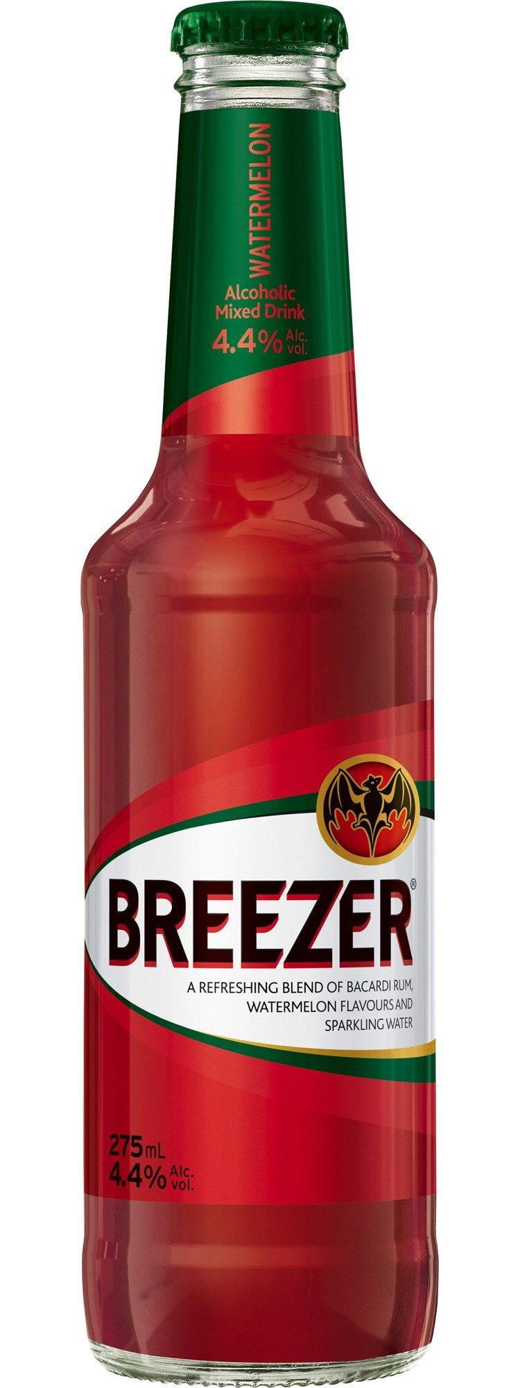 Bacardi Breezer Watermelon Flavour 330Ml