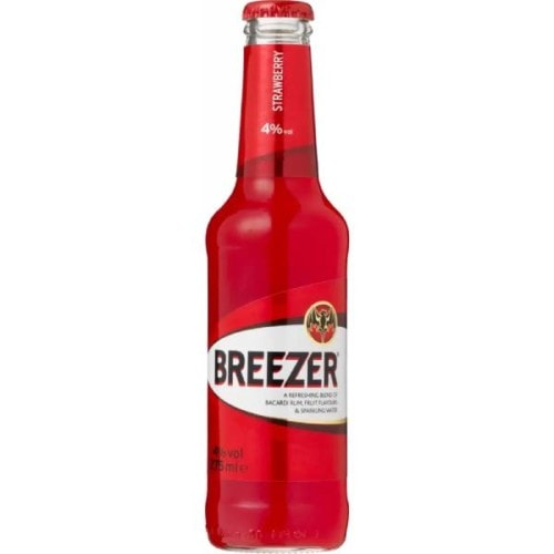 Bacardi Breezer Strawberry Flavour 330Ml